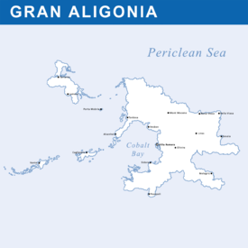 Political Map of Gran Aligonia