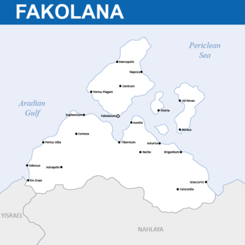 Map of Fakolana
