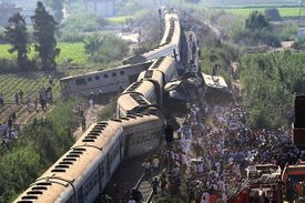 General view of Gungkoshi train collision