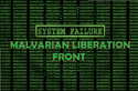 Flag of Malvarian Liberation Front M.L.F.