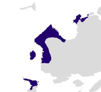 The Hyseran Empire at its greatest territorial extent, c. 300 AD