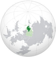Location of Mascylla (dark green) – in the Erdaran Union (light green) – in Erdara (grey and green)