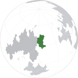 Location of Albrennia