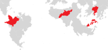 Map of Member Countries