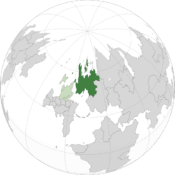 Location of Tyrnica